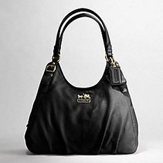 Madison Leather Maggie Shoulder Bag - I have an off-brand version of this purse, and I can't help but sometimes wish it was this one.