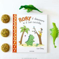 Rory il dinosauro e il suo cucciolo di Liz Climo  #dinosaur #mondadori #libro  #lizclimo #libriperbambini #books