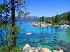 Sand Harbour, Lake Tahoe, Nevada State Park