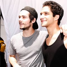 TEEN WOLF TUESDAY! I can't wait to see these 2 on my tv again! :D