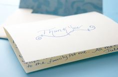 Basic Ettiquette for Thank You Notes and Invitations