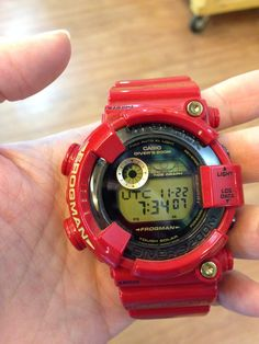 Casio g-shock #frogman #GF8230A rising red limited edition 30th anniversary