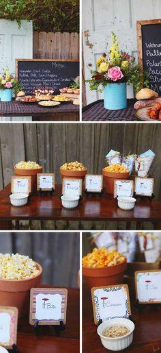 Popcorn bar popcorn and bar on pinterest - Como decorar un bar ...