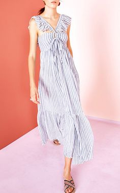 This **Ulla Johnson** Ariane Maxi Dress can be worn both ways, and features a…