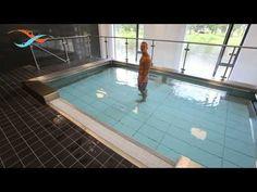 EWAC Medical - Modular pool - Movable swimming pool floor - Observation windows - YouTube