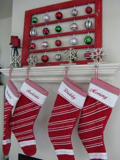 great way to display ornaments