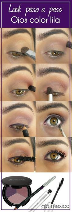 1000 images about maquillaje ojos on pinterest palms for Como maquillar ojos ahumados paso a paso