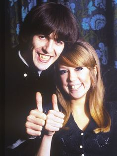George & Pattie, January 1966 Photo Credit - Keystone France