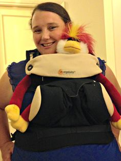 my new ergobaby 360 baby carrier!   New Momma Beckers