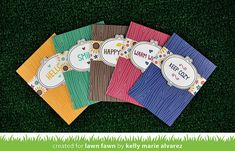 Lawn Fawn Intro: Sweater Weather stamps and Woodgrain Notecards - video