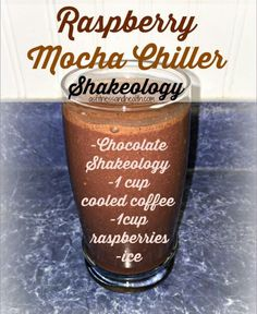 Try this Raspberry Mocha Chiller Shakeology recipe! Super delicious, and packed full of nutrients and even more protein! Awesome when you just can't stop drinking that coffee, or need an extra boost! Get a new Shakeology/green smoothie recipe every Wednes Smoothie Prep, Green Smoothie Recipes, Fruit Smoothies, Protein Smoothies, 310 Shake Recipes, Protein Shake Recipes, Protein Shakes, Shakeology Shakes, Beachbody Shakeology