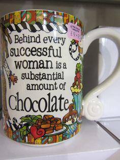 Chocolate Mug £9.95