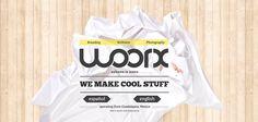 Web Design Inspiration : woorx.com