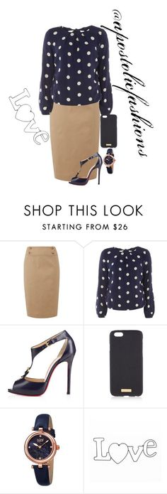"""Apostolic Fashions #1459"" by apostolicfashions on Polyvore featuring Lauren Ralph Lauren, Dorothy Perkins, Christian Louboutin, Henri Bendel and bürgi"