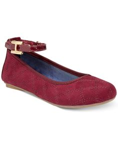 23dd6eb8 Tommy Hilfiger Girls' or Little Girls' Kayleigh Signature Flats & Reviews -  Kids' Shoes - Kids - Macy's