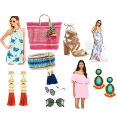 Vacation Wear by apolishedpalate on Polyvore featuring MLM, MINKPINK, Boohoo…