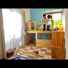 My Shelf/IKEA/DIY/秘密基地/キッズスペース/ロディ...などのインテリア実例 - 2016-12-31 07:57:52