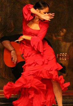 I love Flamenco dancing. Passionate, colorful, strong roles for women dancers.