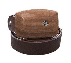 Gürtel Nuss-Holz / Leder schwarz - schmal Belt, Collection, Fashion, Jewels, Wood, Accessories, Reading Glasses, Wood Grain, Handbags