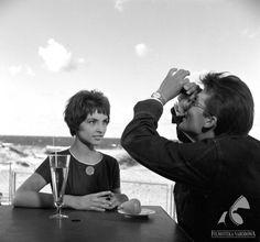 Do widzenia do jutra (1960)  dir: Janusz Morgenstern    male role: Zbigniew Cybulski - polish Jean Paul Belmondo or James Dean :):):)