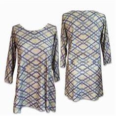 Maria Luisa Boutique | ML by Maria Luisa - Nally & Millie Cozy Geometric Print Tunic