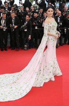 Fan Bing Bing portait une robe Ralph & Russo Couture - J1