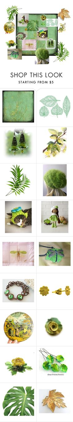 """""""A New Leaf"""" by earthspalette on Polyvore featuring beauty"""