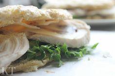 Kotona tehtyjä: Gluten free sandwiches