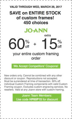 60 off extra 15 off your entire custom framing order