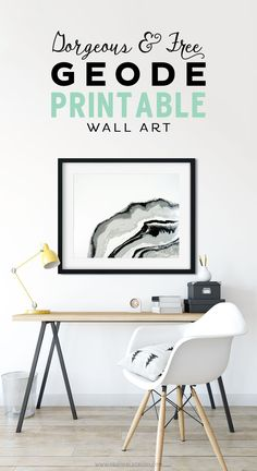 Decorate your modern home with this beautiful FREE Geode Printable Wall Art.,Decorate your modern home with this beautiful FREE Geode Printable Wall Art. Comes in and with different layout options. The marble colors . Diy Wall Art, Modern Wall Art, Framed Wall Art, Wall Art Decor, Decor Interior Design, Interior Decorating, Decorating Games, Interior Paint, Diy Spring