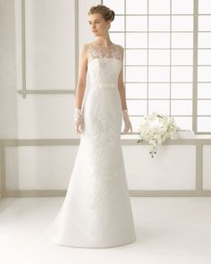 16 - vestido de noiva tamaris em renda de rosa clara 2016