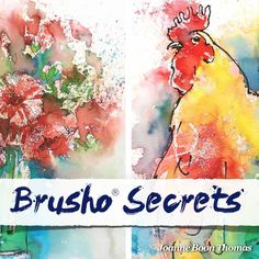 Brusho allows you to create visually stunning, expressive artwork with the minimum of fuss. It's fun to use, beginner-friendly and ideal if you want to learn how to create very contemporary, very striking images to hang on your wall or even sell. Brusho Secrets with Joanne Boon Thomas is the first and only instructional course that shows you how to paint stunning, impressionistic watercolours with Brusho paint powder.