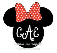 Minnie Mouse Shirt - Disney or Birthday - Cute!