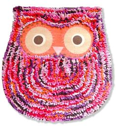 Shaggy Owl Mat by Hunkydory Home