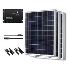 RENOGY 300 Watts 12 Volts Polycrystalline Solar Bundle Kit -- Click image to review more details. Note: It's an affiliate link to Amazon
