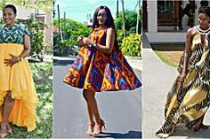 If you are one of those who prides themselves in keeping up with trends then you would know that the Ankara off-the-shoulder trend is really hot right now
