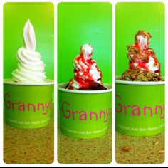 How to make strawberry delight tart.. This was created at Grannys Yogurt of La Verne, CA.
