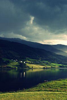 Vangsvatnet (by Marianne….)    Vangsvatnet is a lake in the municipality of Voss in Hordaland county, Norway.