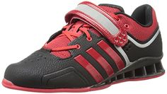 adidas Performance Adipower Weightlifting Trainer ShoeBlackLight ScarletTech Grey115 M US -- Read more reviews of the product by visiting the link on the image.