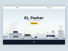 Hi there! Today we want to show you an illustration which Piotr Kmita did during last EL Hackhatone - splash screen for EL Pasher, our internal application for ordering food.  Designed by Piotr Kmi...
