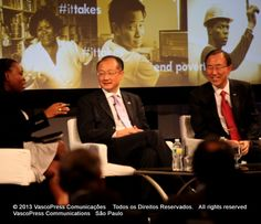Global Voices on Poverty: A Conversation with Jim Yong Kim and UN Secretary General Ban Ki-Moon - IMG_1894