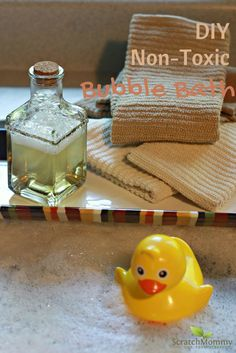 DIY Non-Toxic Bubble Bath Recipe