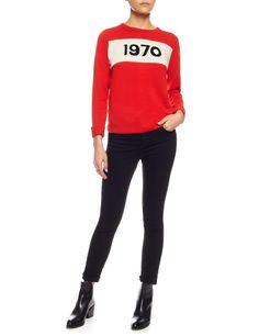 Red Wool 1970 Jumper | Bella Freud | Avenue32