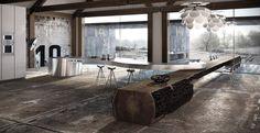 Kitchen Design Think Tank: Wood and Steel!