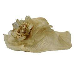 Crownless Sinamay Hat