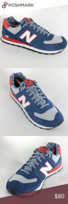327ac2ffad NEW BALANCE 574 Paisley Running Shoes ML574LRR Super clean and new  condition New Balance Paisley Edition