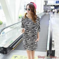 Stylish Zebra Loose Dress for only P479 at ShopThisEasy.com, please click here: http://www.shopthiseasy.com/shops/stylish-zebra-loose-dress-e7edc.html