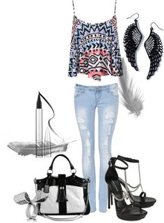 """Tenue.£.10"" by fleurbennett ❤ liked on Polyvore"