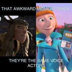 I knew this! haha when i found out she was voicing her in DM 2 i was like oommggg