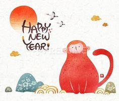 ¡Feliz año nuevo lunar del mono! Eumnyeok Seollal (음력 설날) Mira cómo lo festejan en #Corea